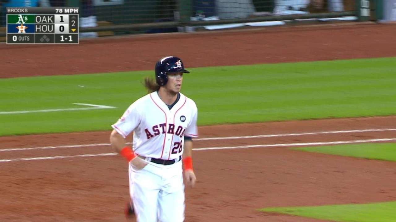 Rasmus' 2 HRs help Astros add to WC lead