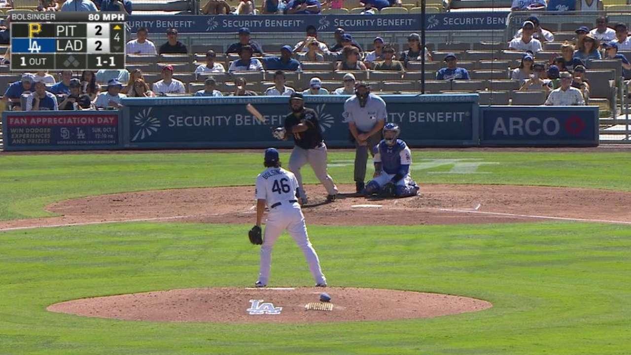 Piratas hunden a Dodgers detrás de Marte, Alvarez