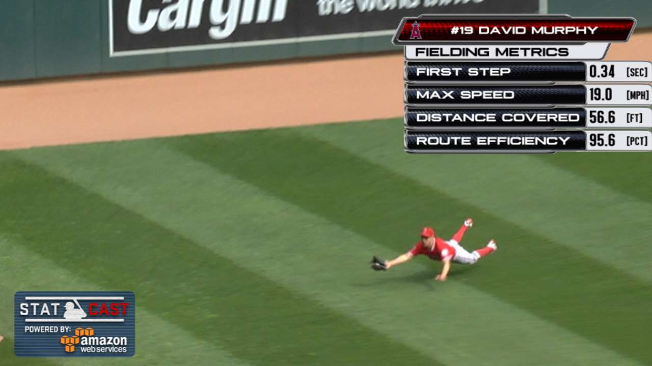 Statcast: Murphy's diving catch