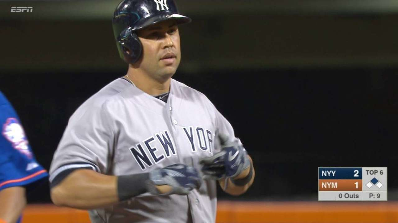 Yankees apalean a Mets, ganan un juego en el Este