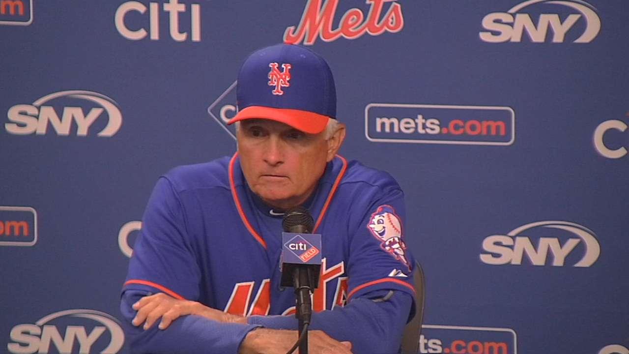 Collins on Mets' 11-2 loss