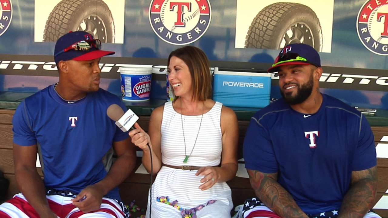 Beltre, Prince proving to be dynamic duo for Texas