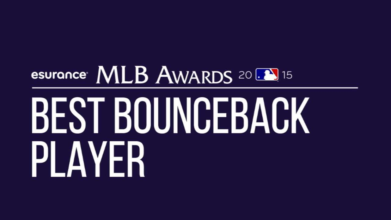 Resilient candidates up for Best Bounceback Player