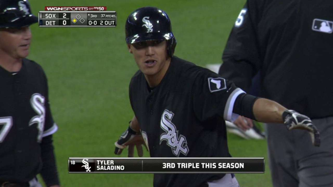Saladino's two-out triple