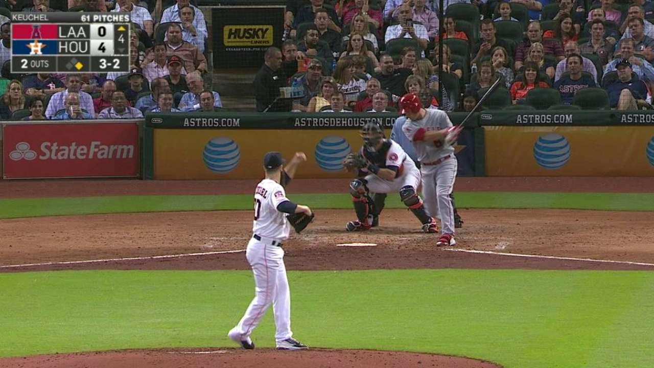 Stats of the Day: Keuchel joins Astros' elite