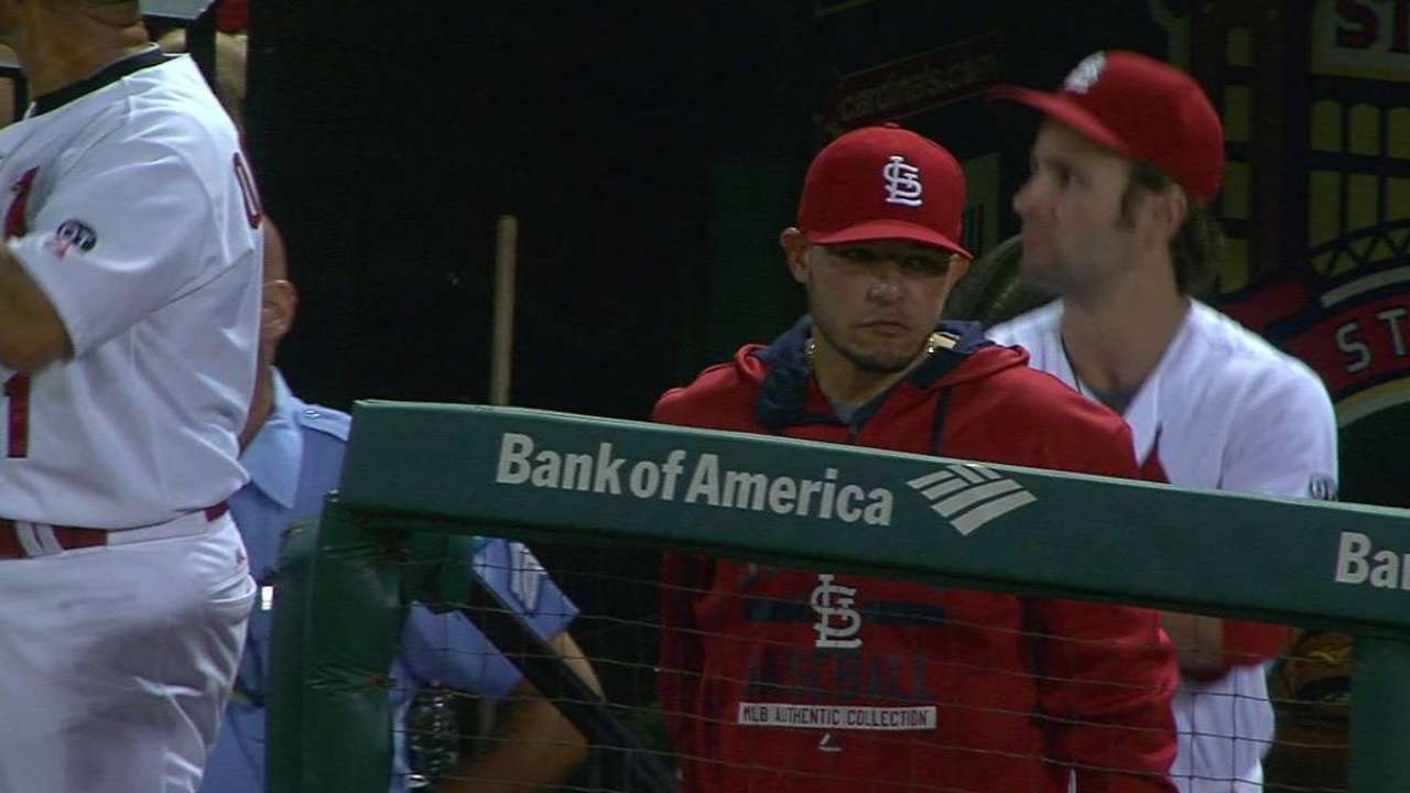 Molina has torn ligament in left thumb