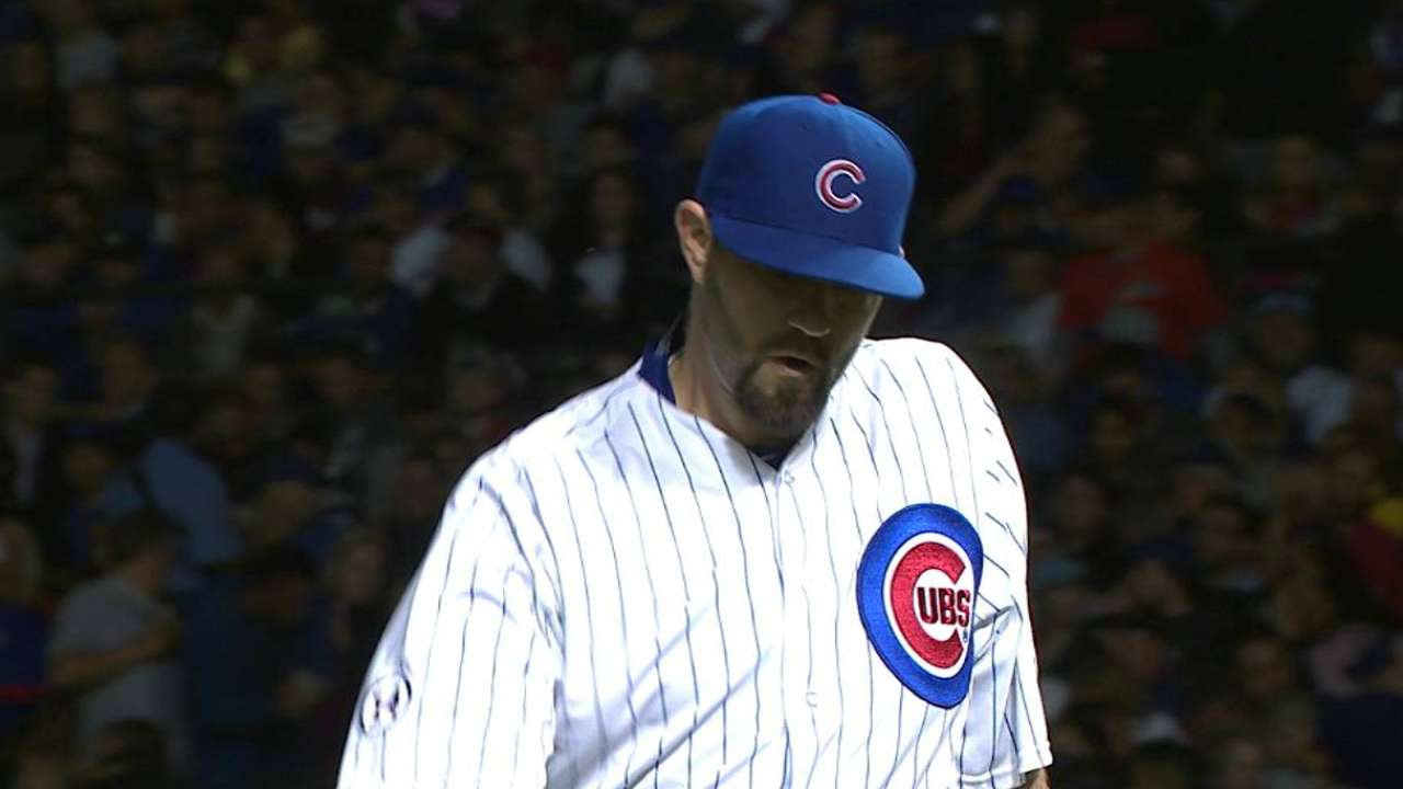 Hammel fans Peralta to end 4th