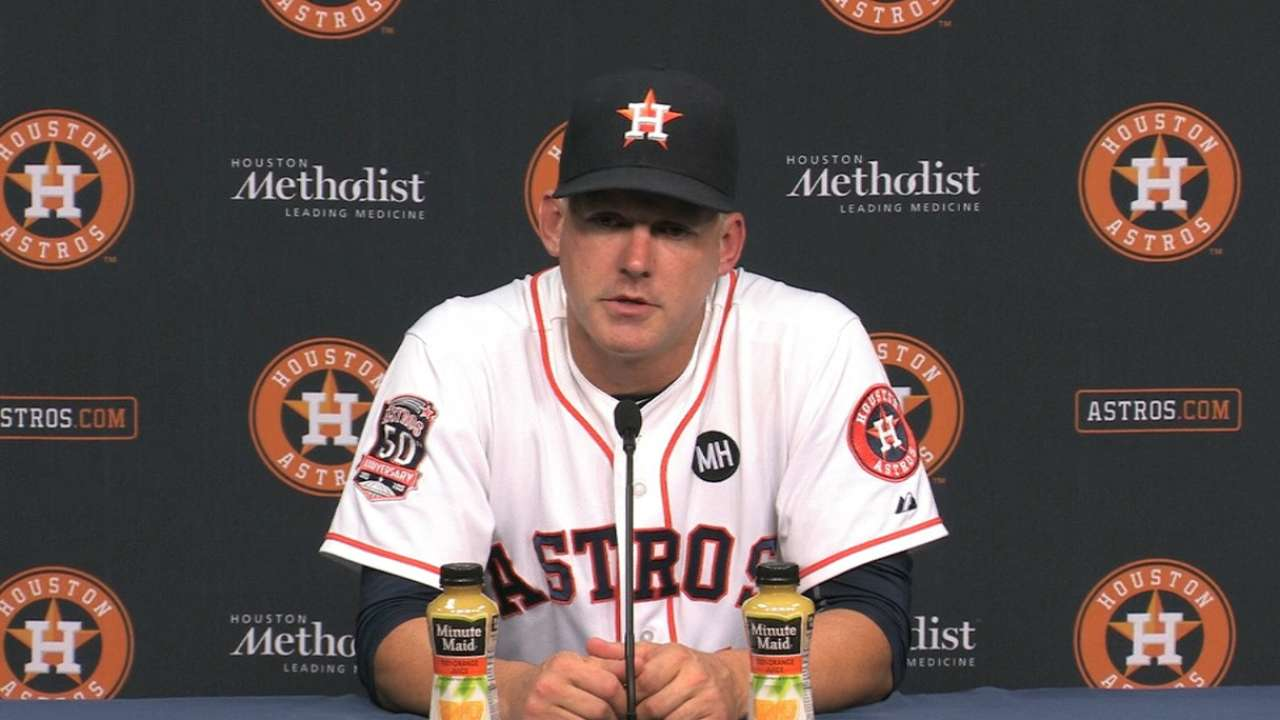 Hinch on the Astros' win