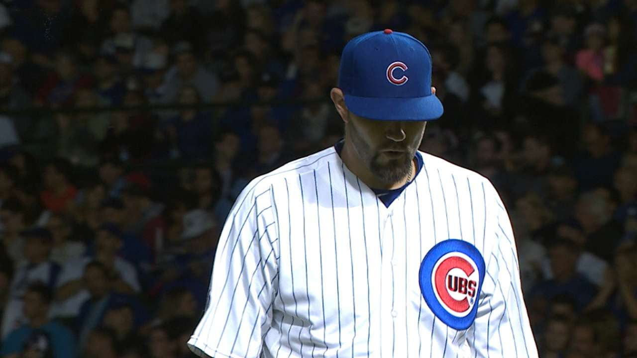 Hammel looking for groove as playoffs near