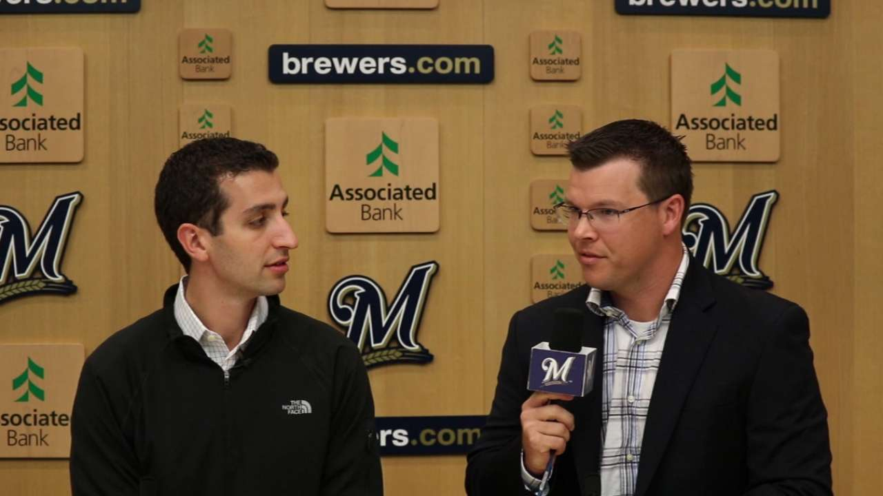 New GM Stearns to meet Brewers in SD