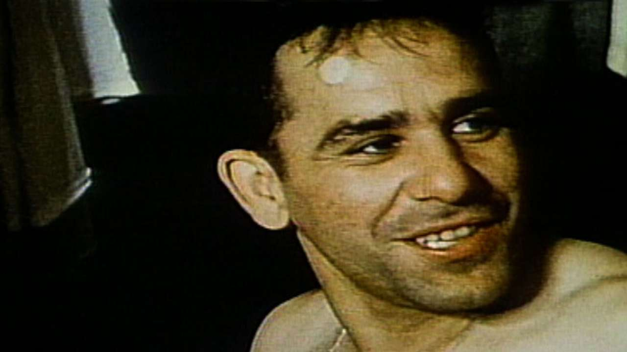 Yankees: Yogi Berra, No. 8