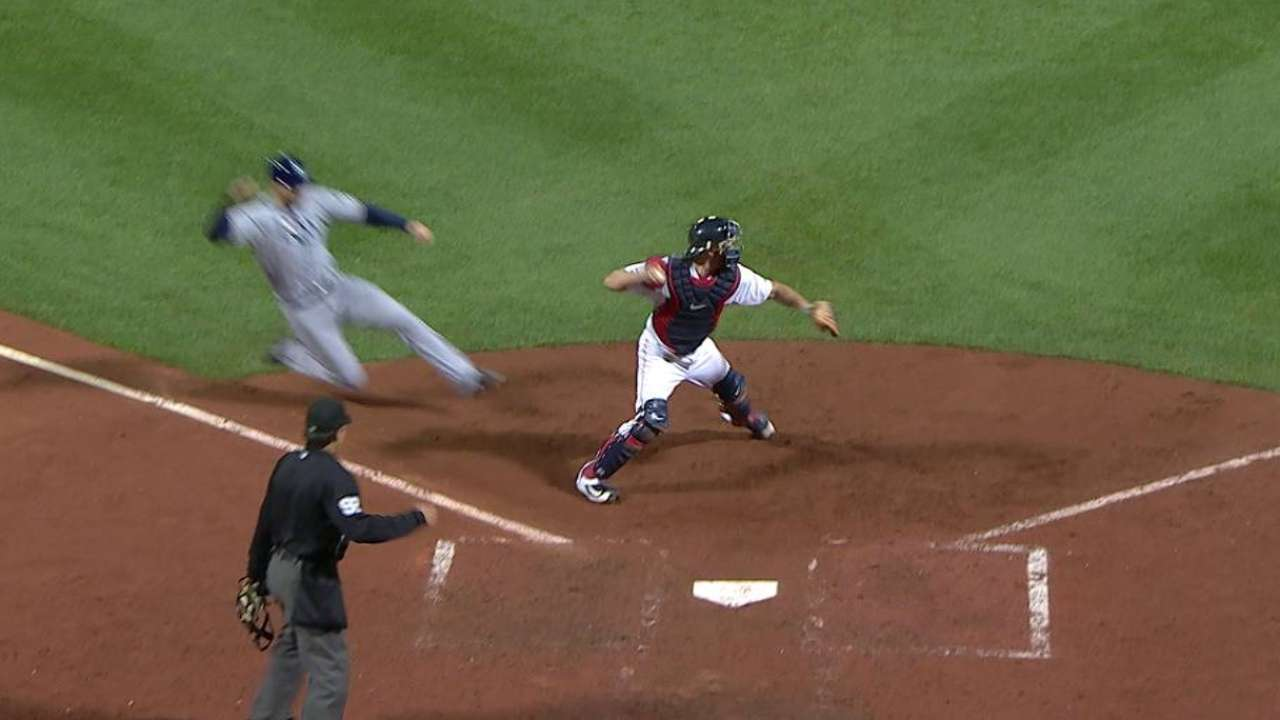 Red Sox turn a big double play