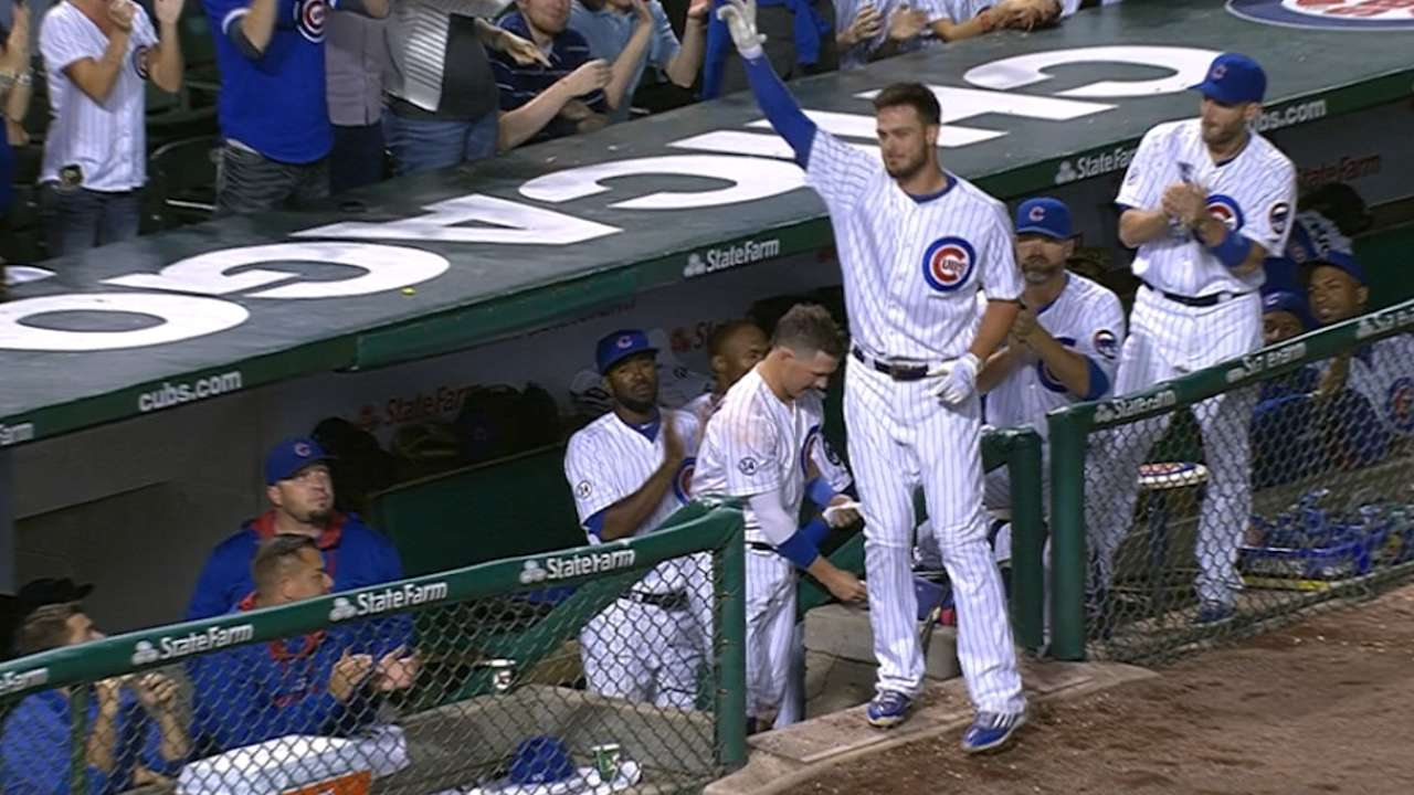 Bryant sets new Cubs record