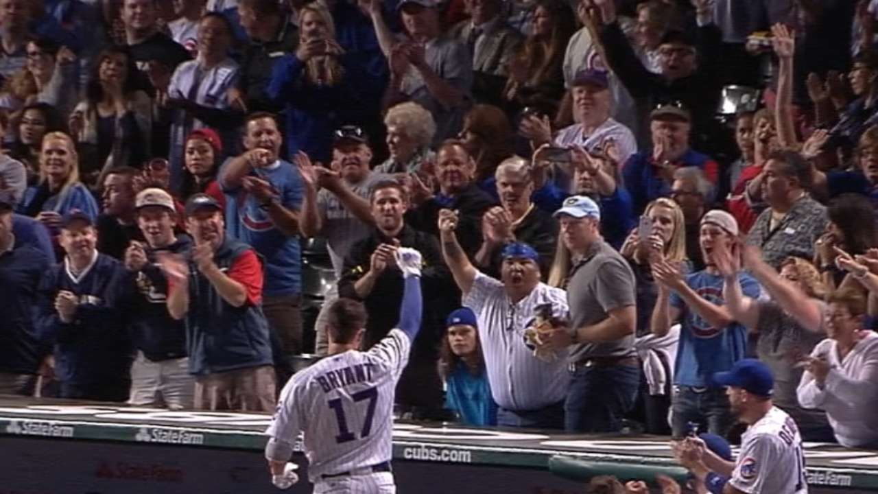 Must C: Bryant sets Cubs record