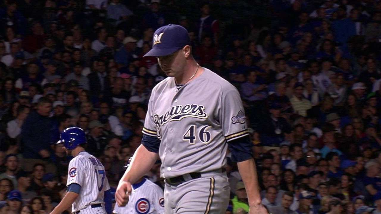 Knebel ends the 8th with K