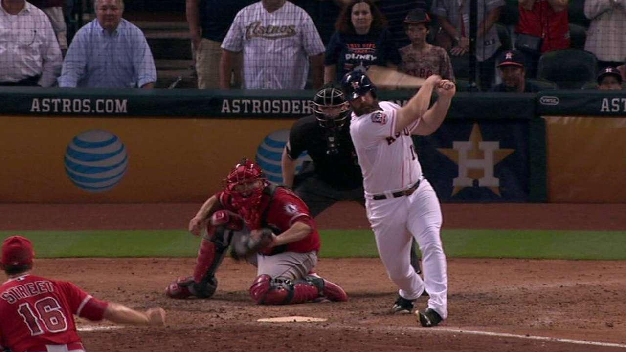 Angels, Astros provide early taste of postseason