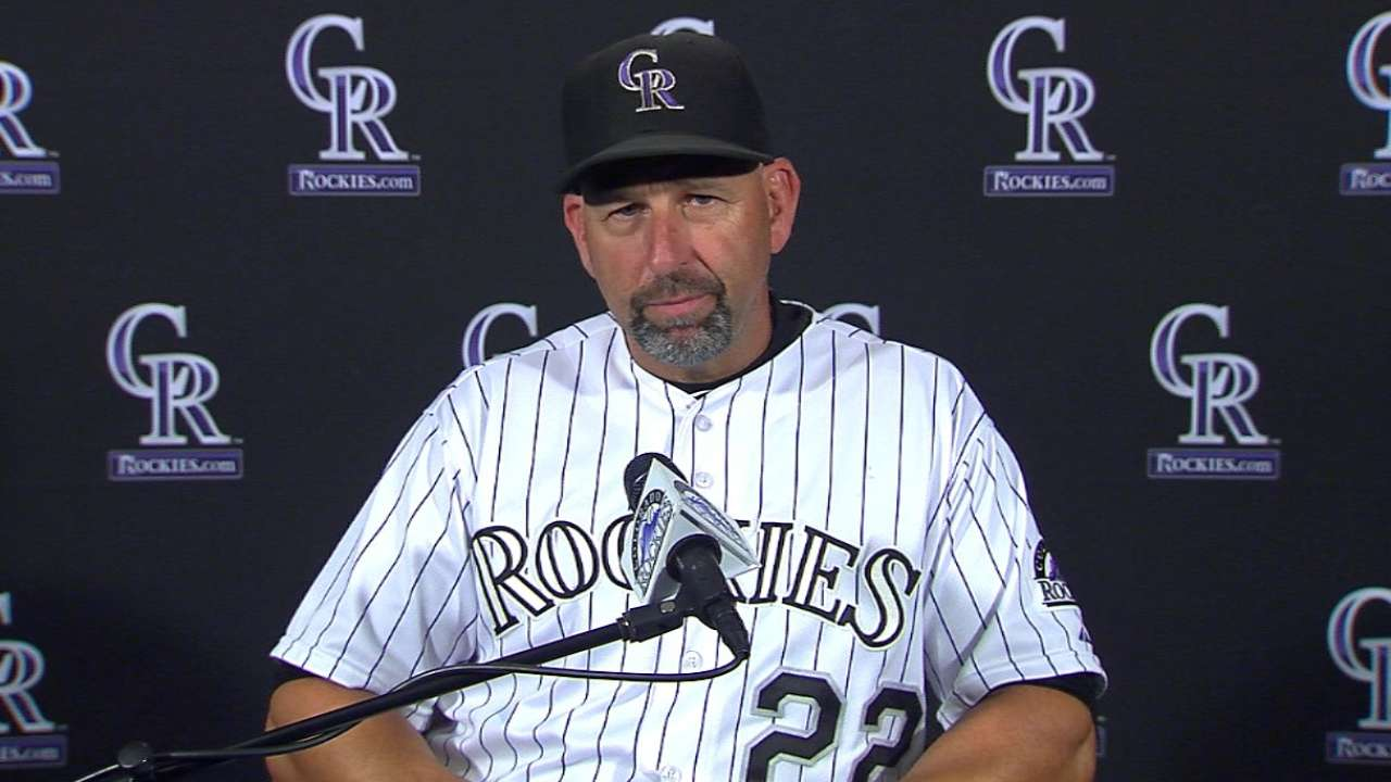 Weiss on Arenado, 6-3 loss