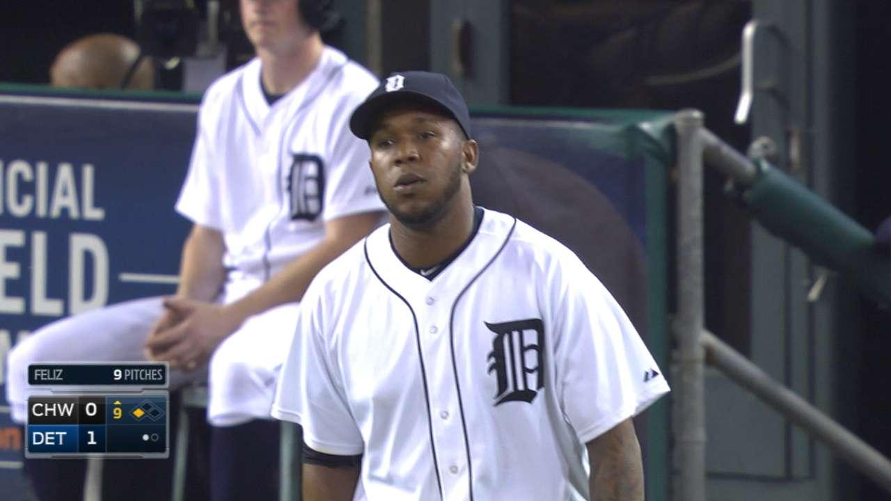 Tigers take no-no into 9th