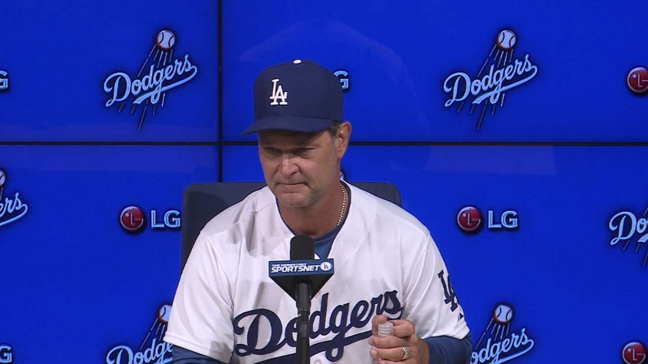 No panic for Dodgers after 4-game skid