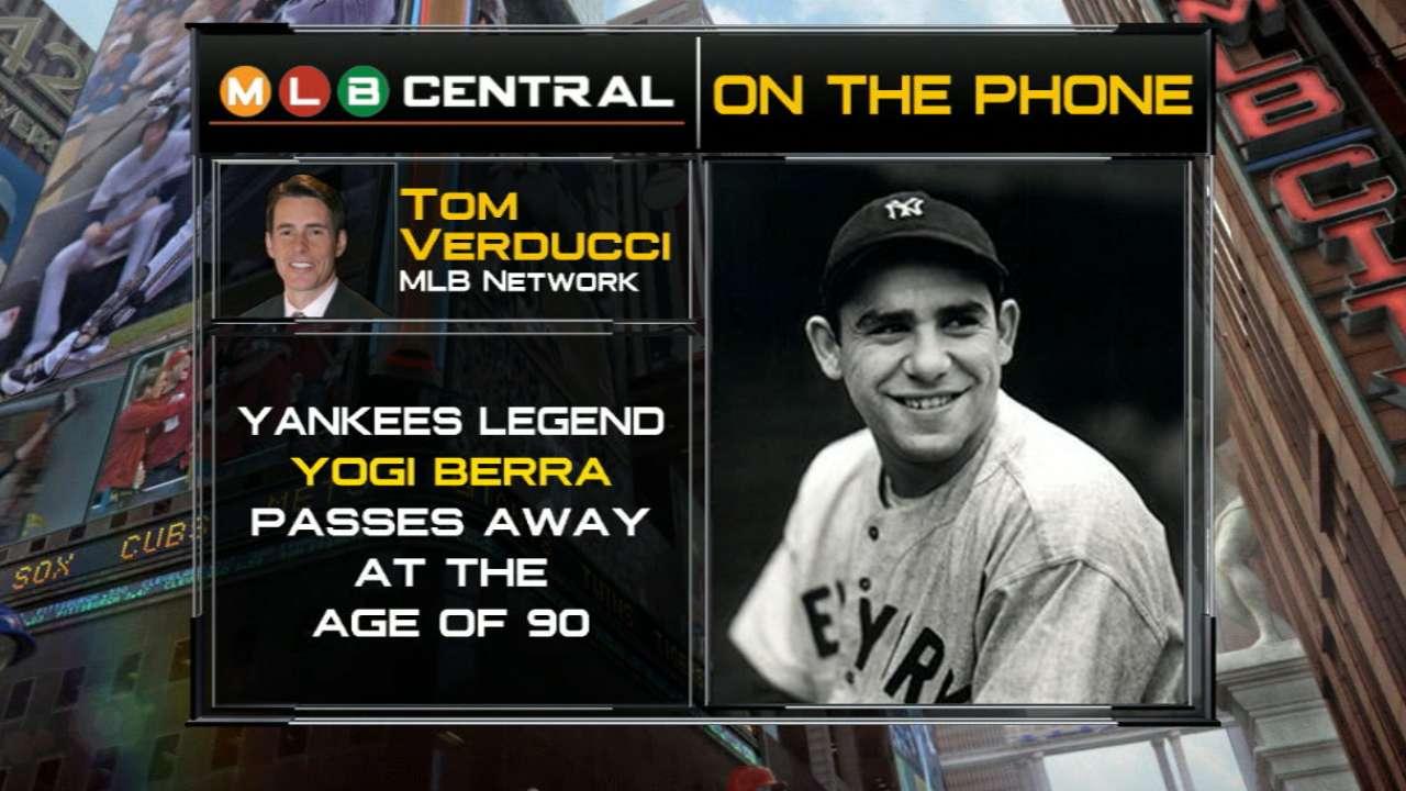 Verducci on career of Yogi Berra