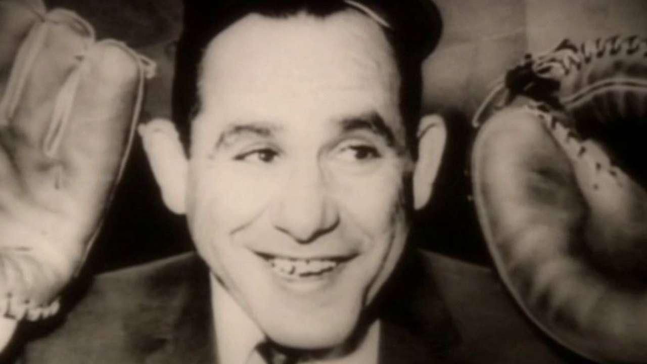 Astros' booth remembers Yogi