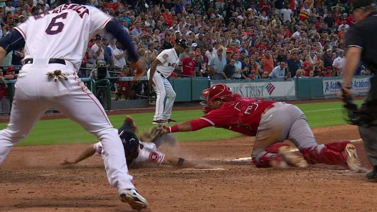 Astros caen y le ceden terreno a Angelinos en la lucha por el comodín