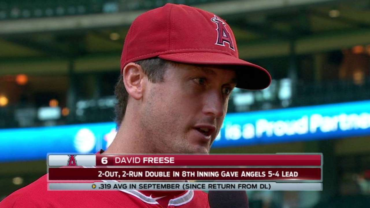 Freese on Angels' surge