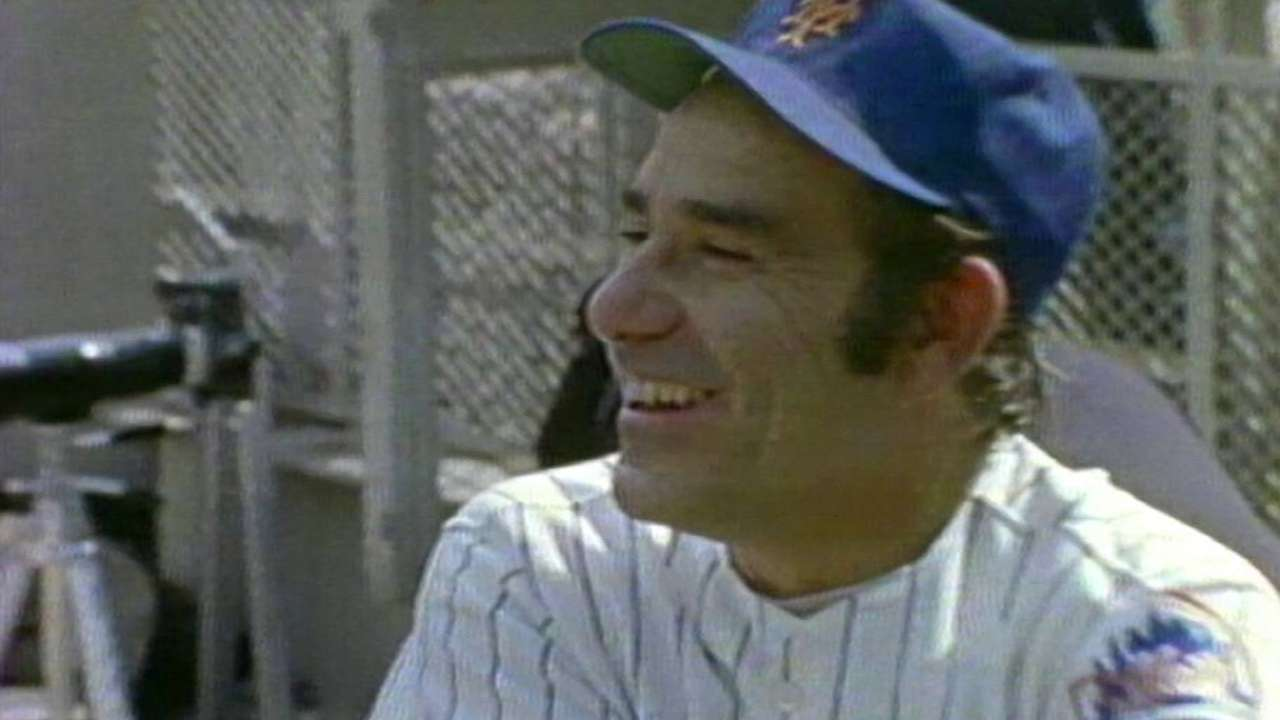 Mets remember Yogi Berra