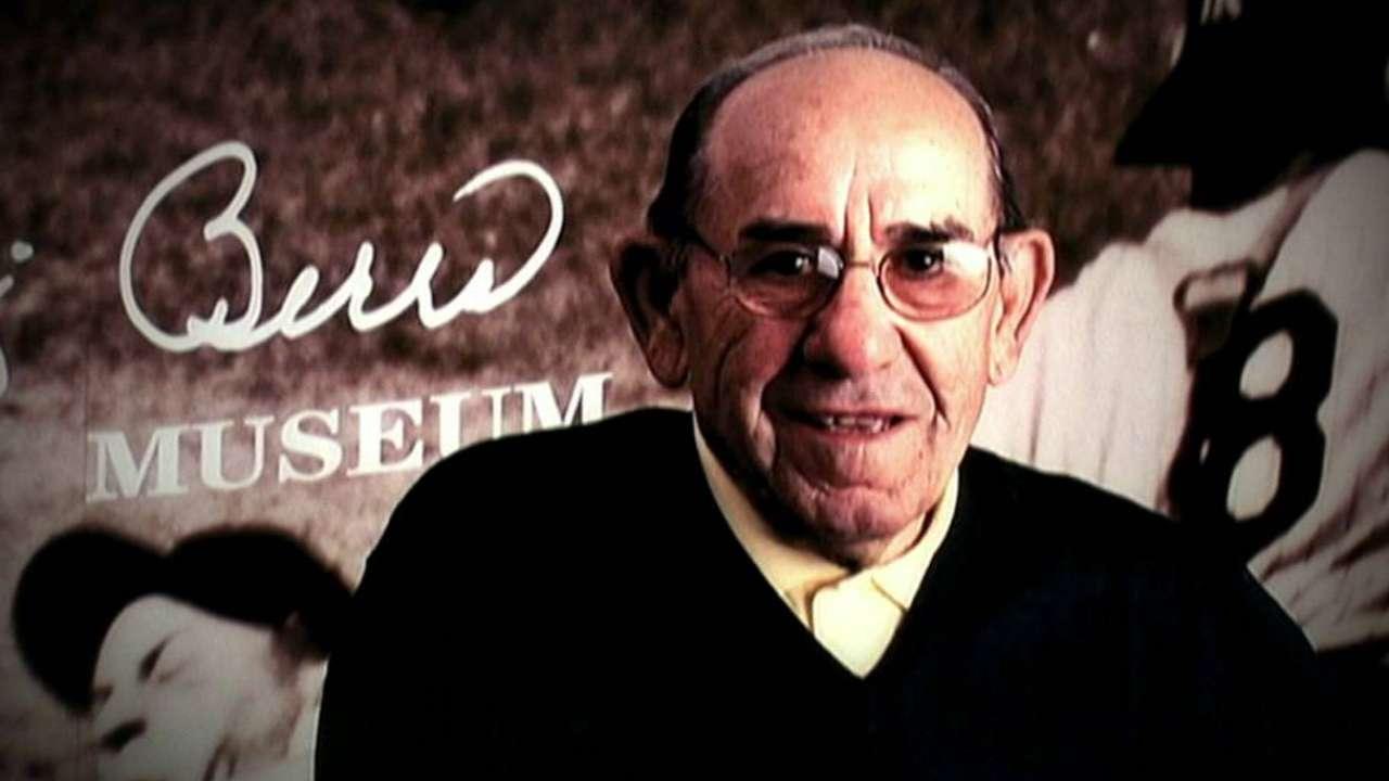 Braves remember Yogi Berra