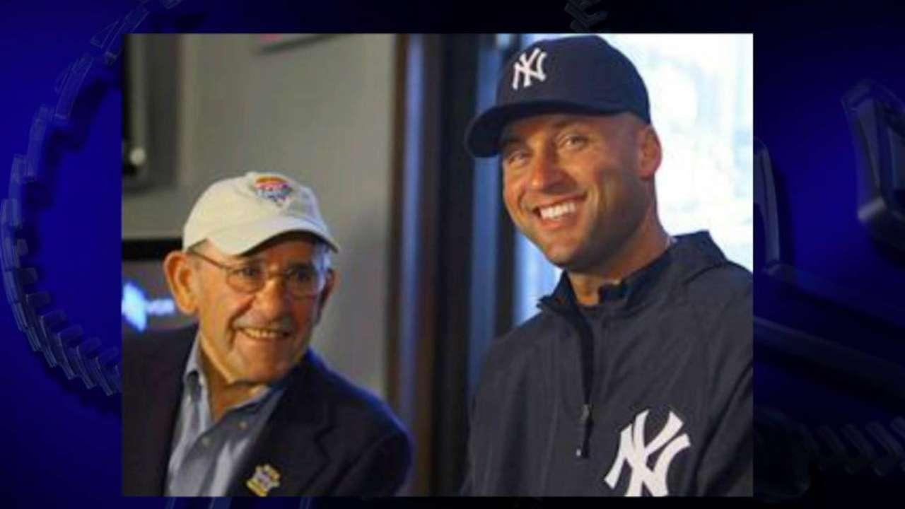 Jeter: Yogi was 'dear friend, mentor'