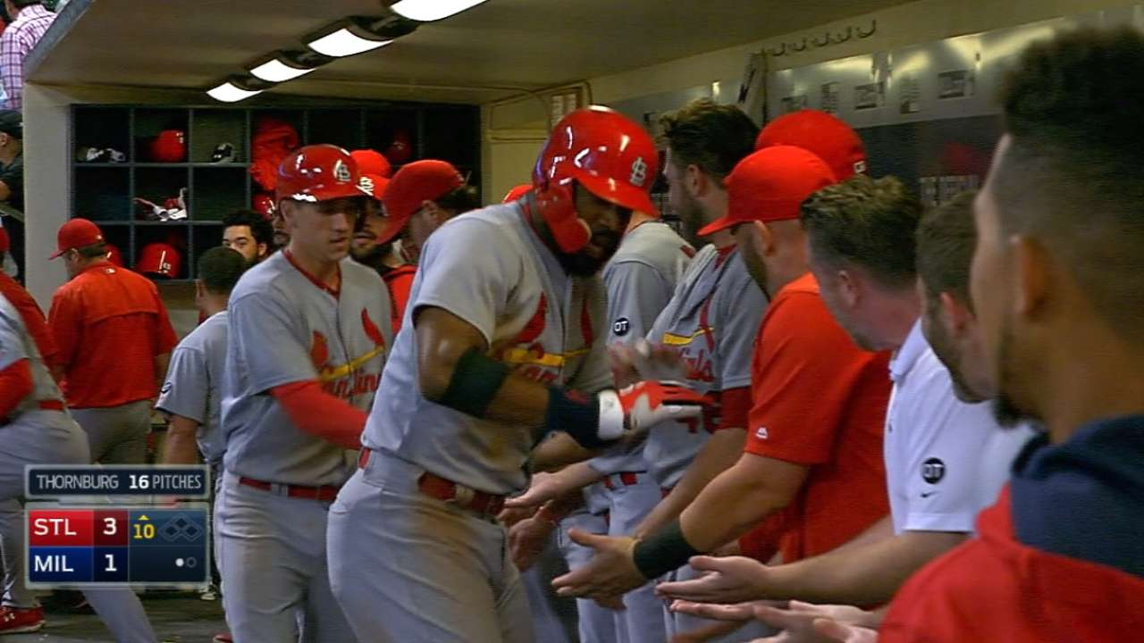 Cardinals clinch playoff berth