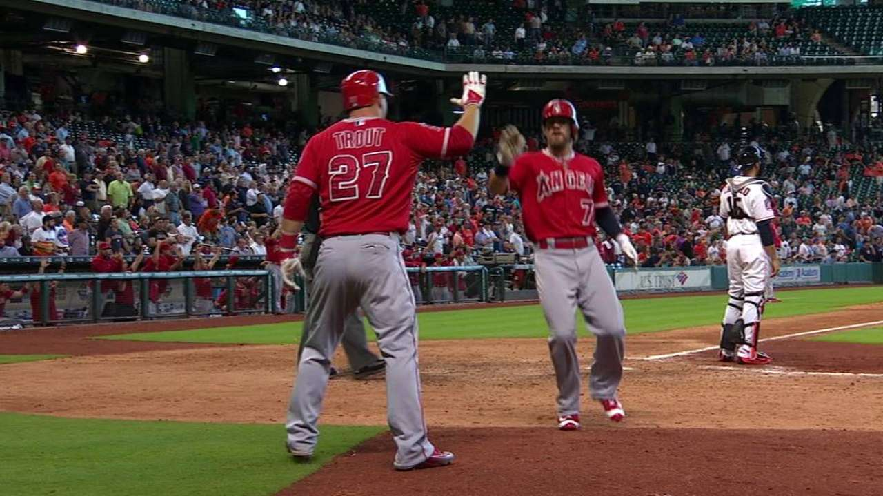 Freese summons clutch gene to propel Angels