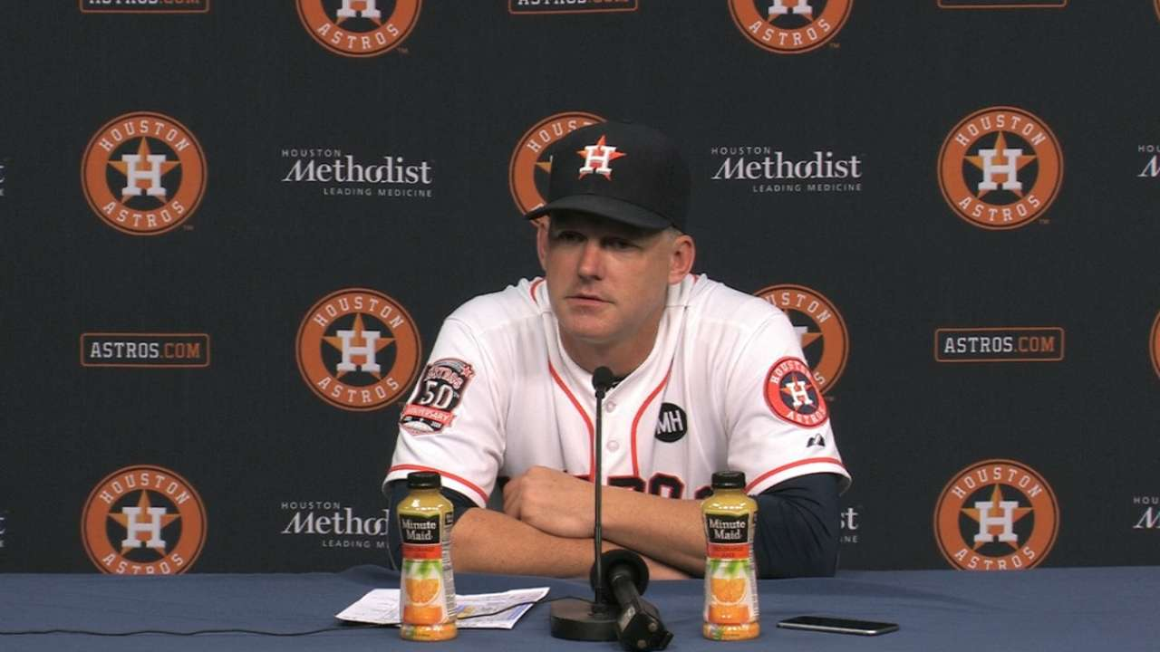 It's all about wins as Astros enter final stretch