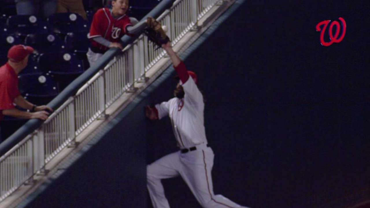Wieters out on fan interference