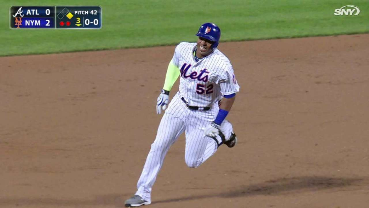 Cespedes' triple in the 3rd