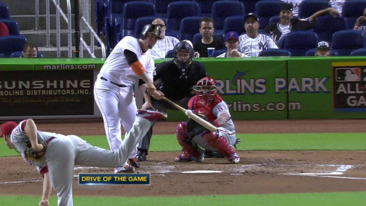 Bour's solo homer