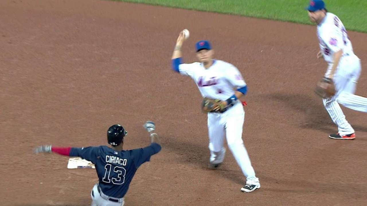 Clippard induces double play