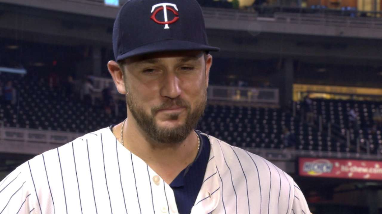 Plouffe on win over Indians