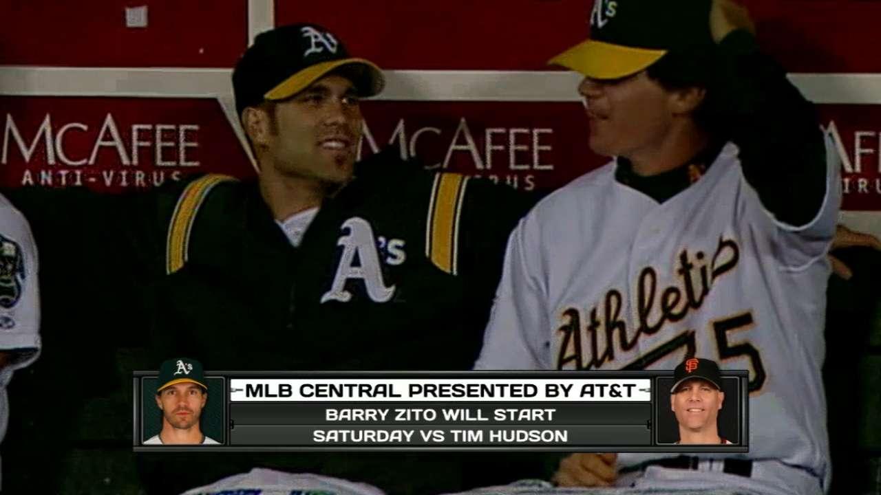 MLB Central on Hudson vs. Zito