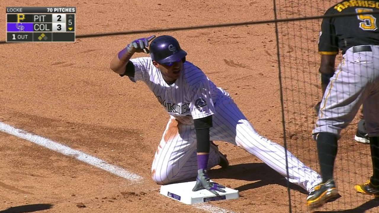 Adames: 'I know I can play shortstop' for Rox