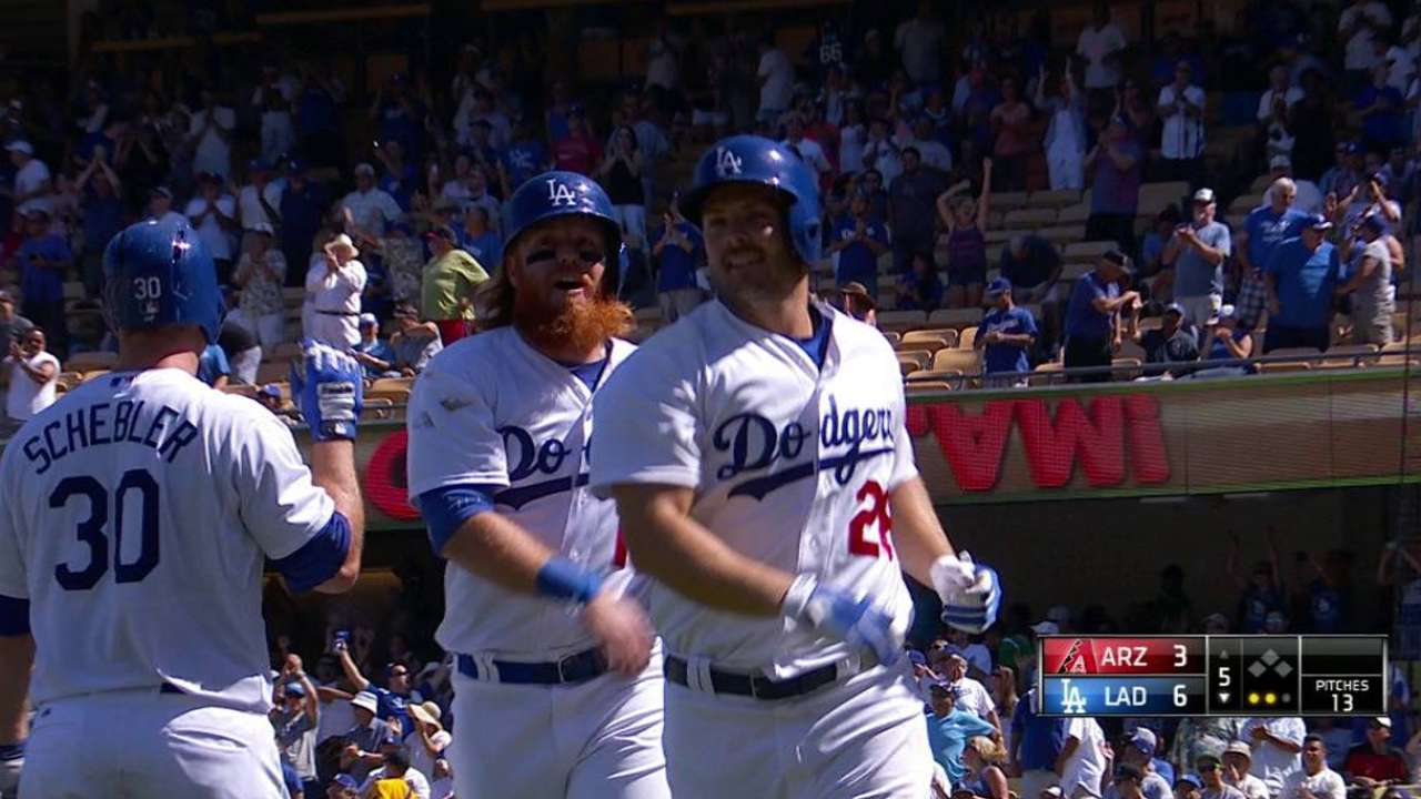 Heisey comes up big with go-ahead slam