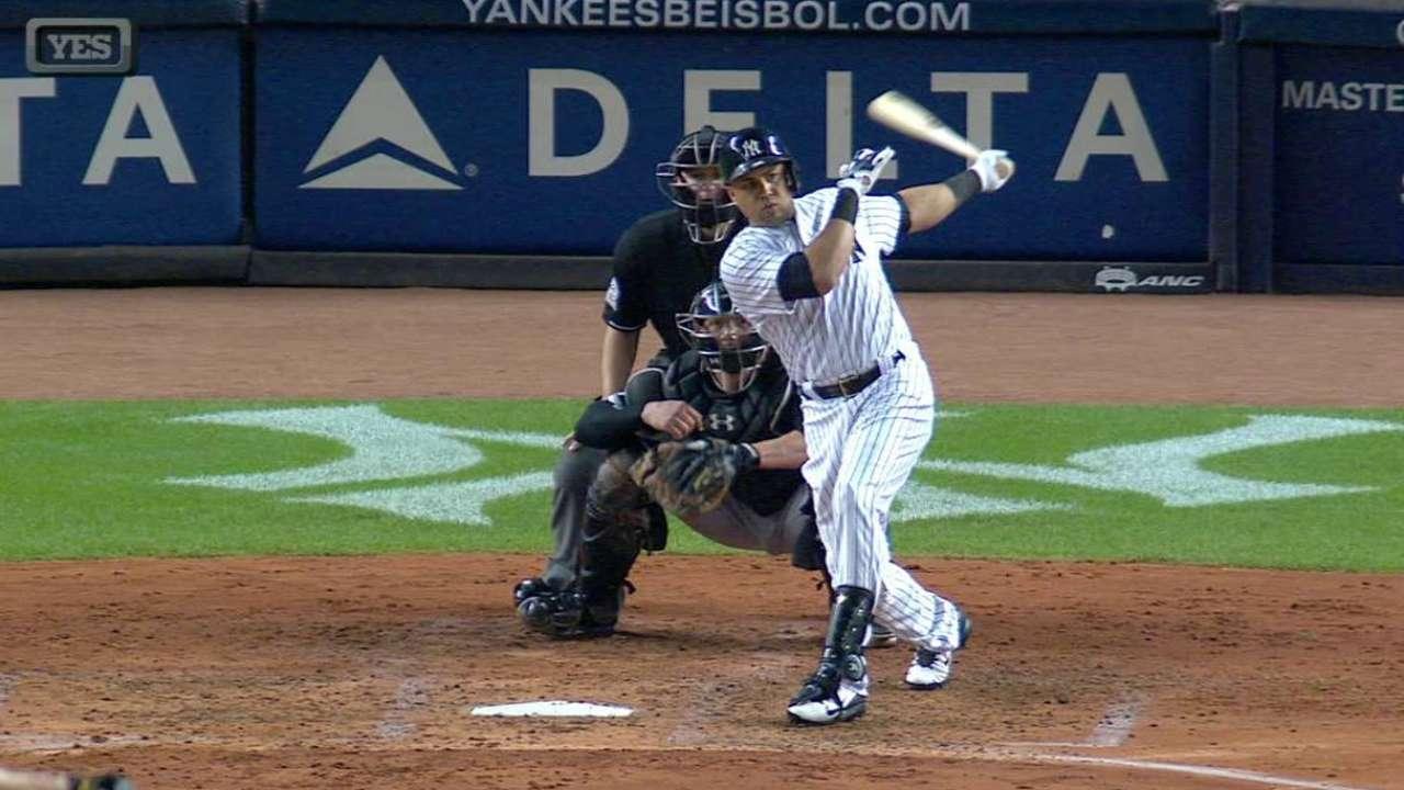 Beltran's three-run homer