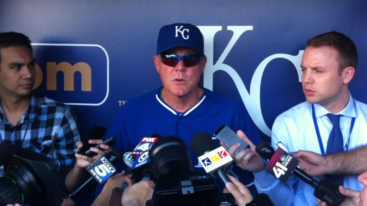 Elbow injury ends season for KC's Holland