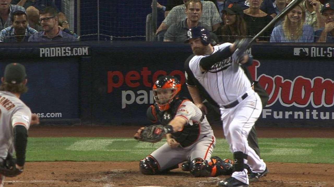 Norris' three-run home run
