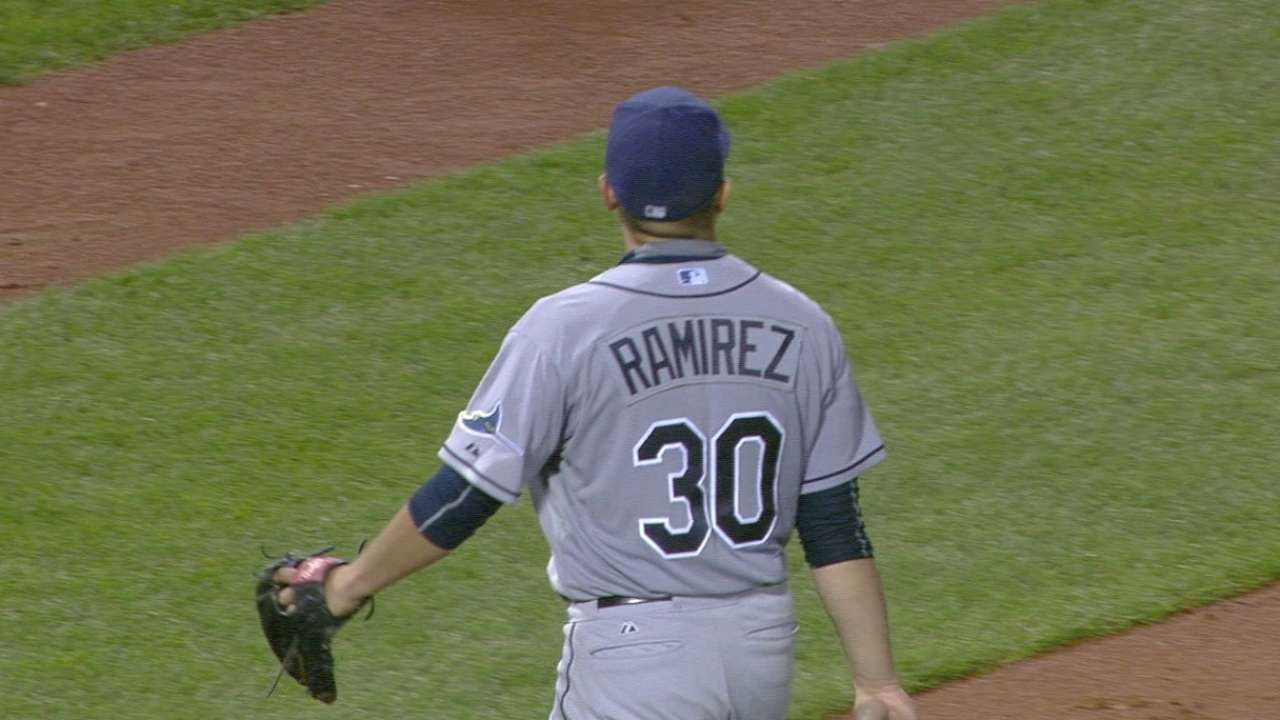 Ramirez's strong outing