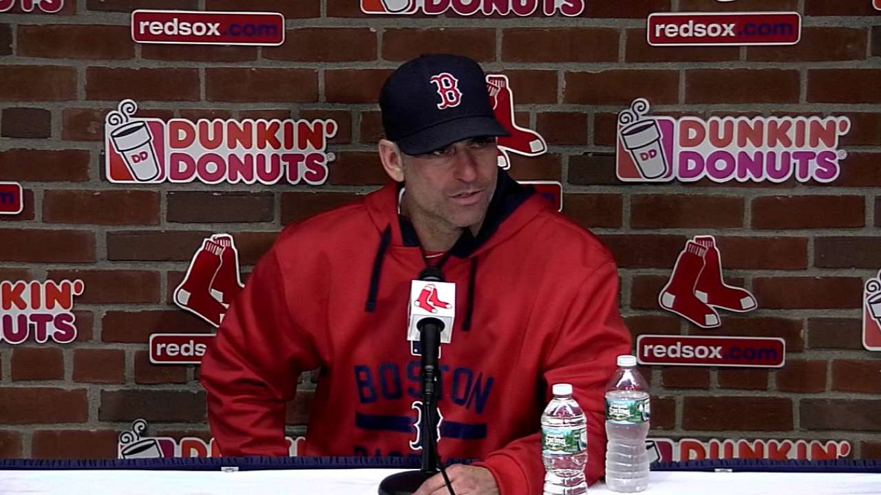 Lovullo on Red Sox's 4-2 loss