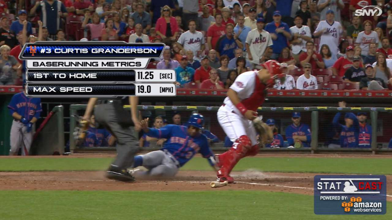Statcast: Relay goes Mets' way, but not Nats'