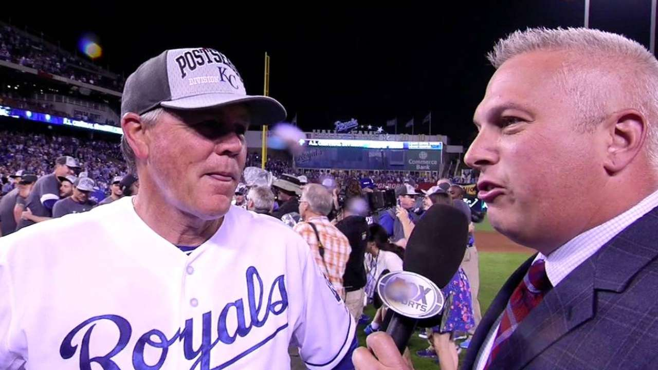 Yost on Royals winning division