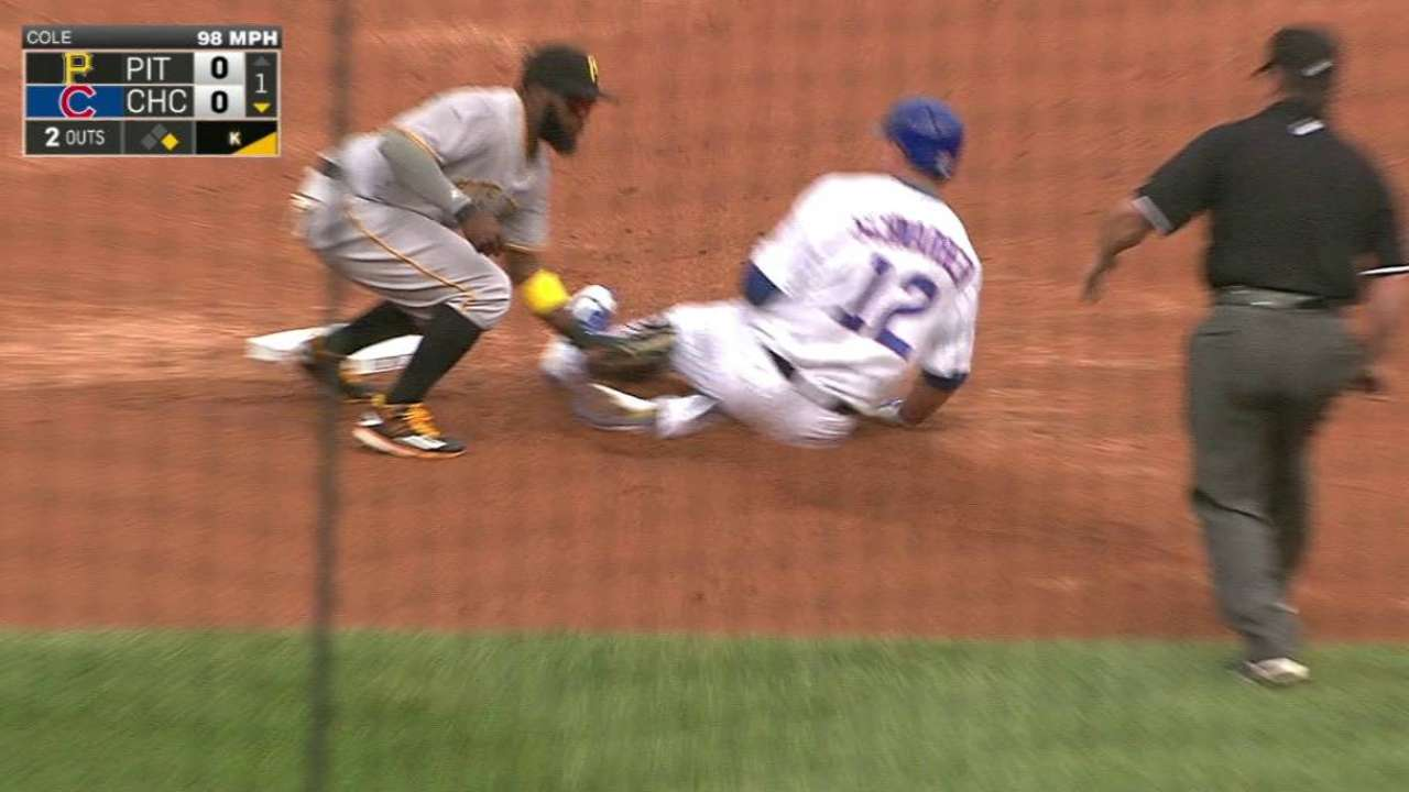 Pirates turn double play
