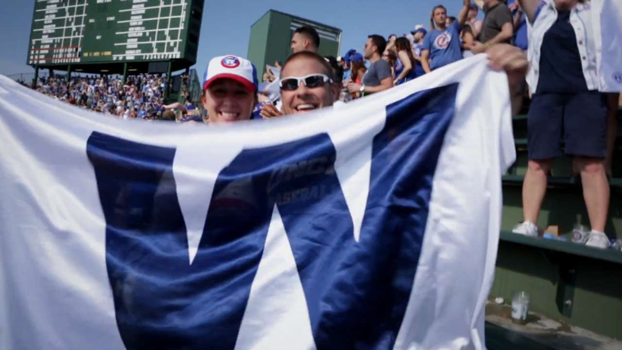 Cubs stay up late, clinch spot in postseason